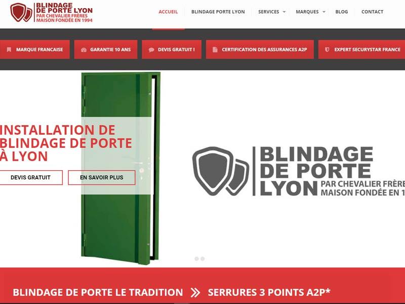 Blindage Porte Lyon