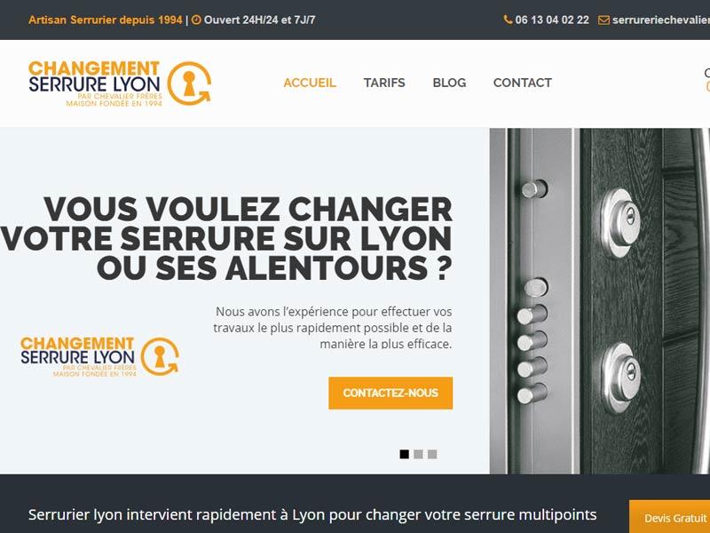 Changement serrure Lyon
