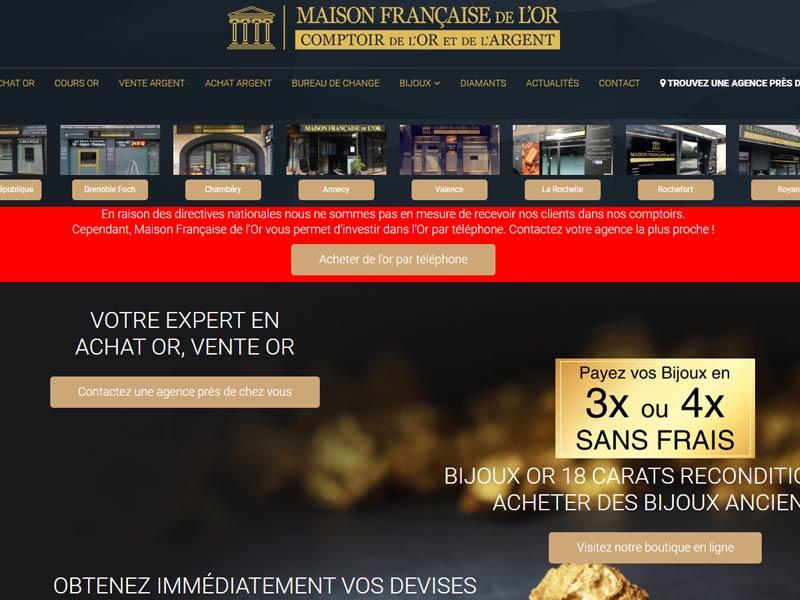 Maison Française de L'Or à Grenoble