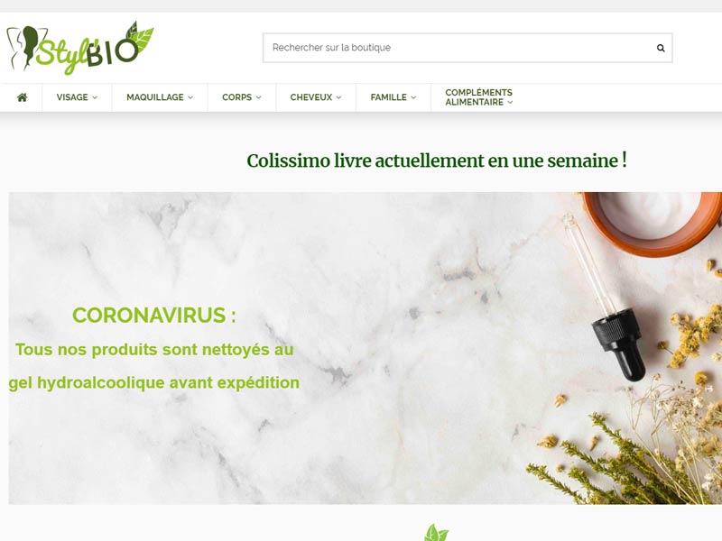 Styl'bio : Cosmétiques bio et locaux